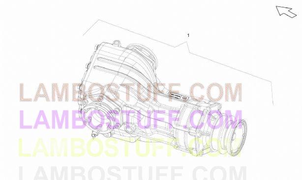 2008 Lamborghini Gallardo Superleggera Front Differential
